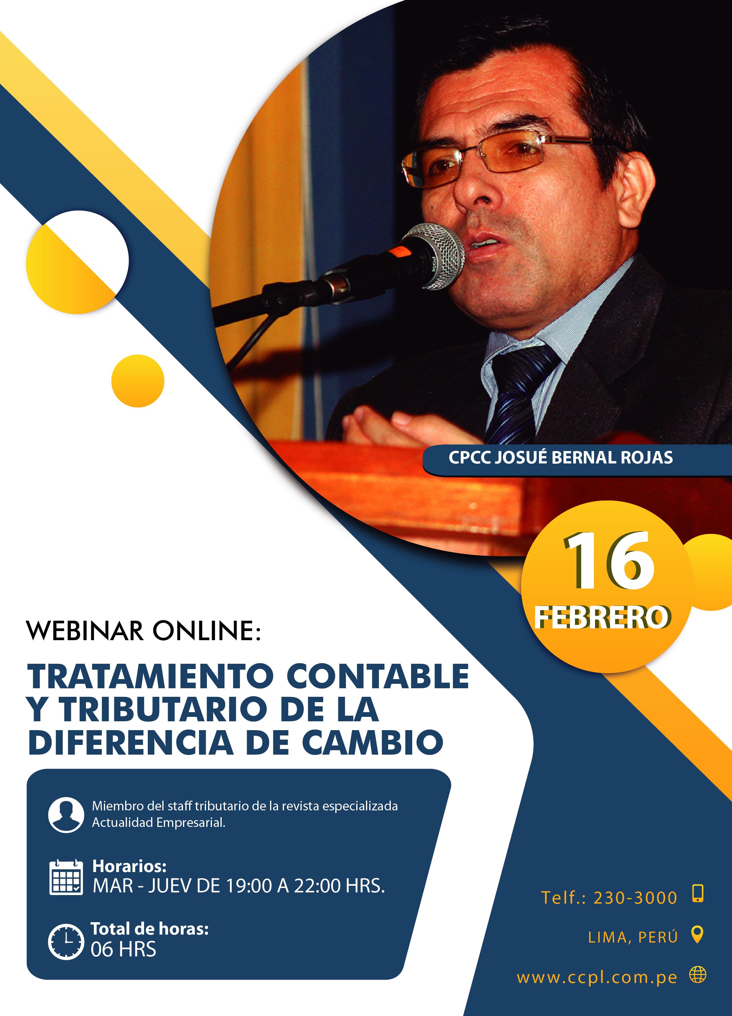 Tratamiento Contable Y Tributario De La Diferencia De Cambio Ccpl Contadores Publicos De Lima